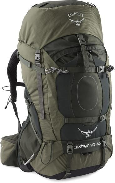 Osprey Aether AG 70 Pack Men's | Mochilas, Equipo táctico