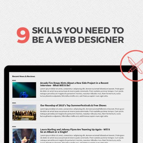 The 9 Skills You Need To Become A Web Designer In 2019 With Images Web Design Web Designer Skills Learning Web