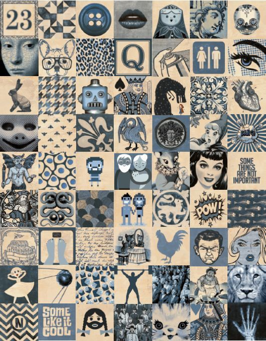Carrelage Motifs Sol Et Mur Indigo Vm Vintage Mosaique Couleurs Carreaux Carrelage Motif Carrelage Et Tuile