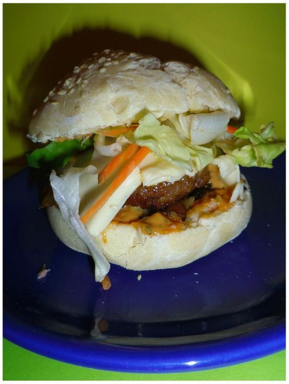 Burgers homemade