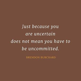 no GUTs_no GOD_no GOODs: JUST BECAUSE YOU ARE UNCERTAIN DOES NOT MEAN...