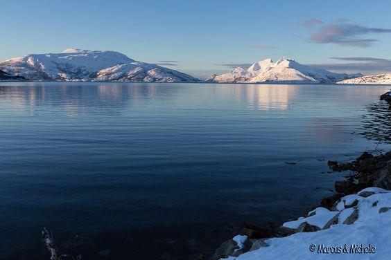 Skulsfjord, Tromsø, Norwegen