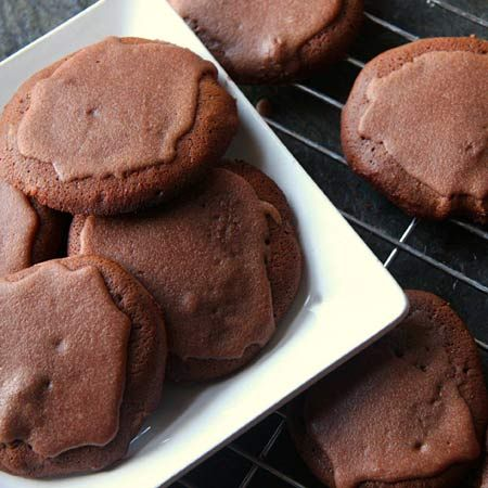 Chocolate frosting cookies recipes