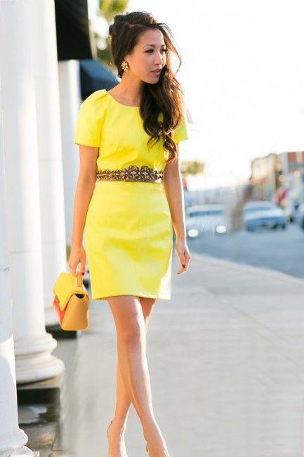 Neon Burst :: Vibrant yellow