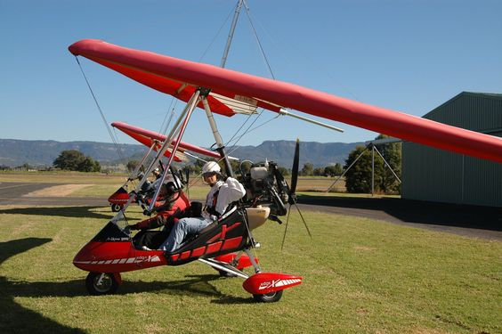 Trike Powered Hang Glider In Australia Aircraft That I