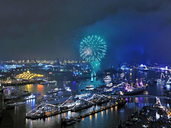 Hamburg Harbour Birthday