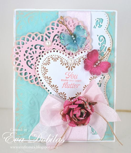 For the love of life: JustRite Papercrafts: Sweet Hearts