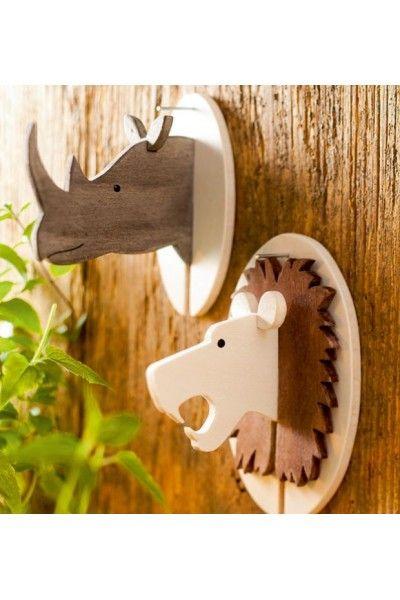 Steckfiguren aus Holz