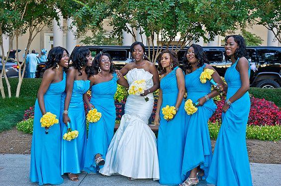 Turquoise And Yellow Wedding Ideas: Yellow Weddings, Atlanta Wedding And Colors On Pinterest