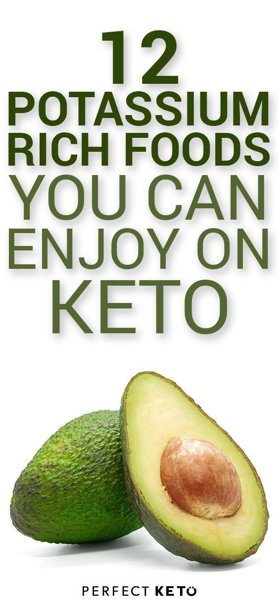 replenish potassium on keto diet