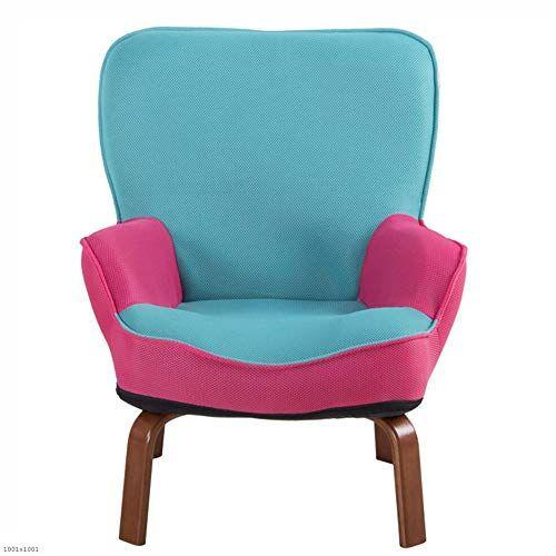 Hrffclh Baby Sofa Cute Small Sofa Single Mini Reading Chair Boy Girl Kindergarten Child Sofa Chair Lightblue Low Sofa Accent Arm Chairs Baby Sofa