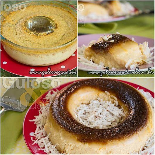 Aqui vai uma dica de sobremesa, o Pudim de Coco com Aveia, é fácil, delicioso e também levinho.  #Receita aqui: http://www.gulosoesaudavel.com.br/2014/03/07/pudim-coco-aveia/