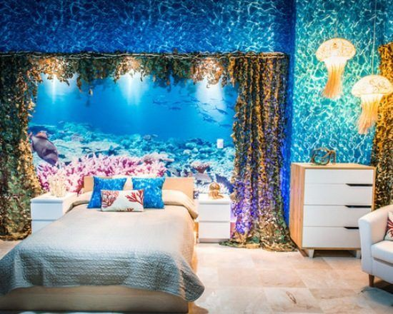 25 Ocean Themed Bedroom Ideas How To Design An Beach Bedroom Ocean Themed Bedroom Bedroom Themes Ocean Themed Rooms