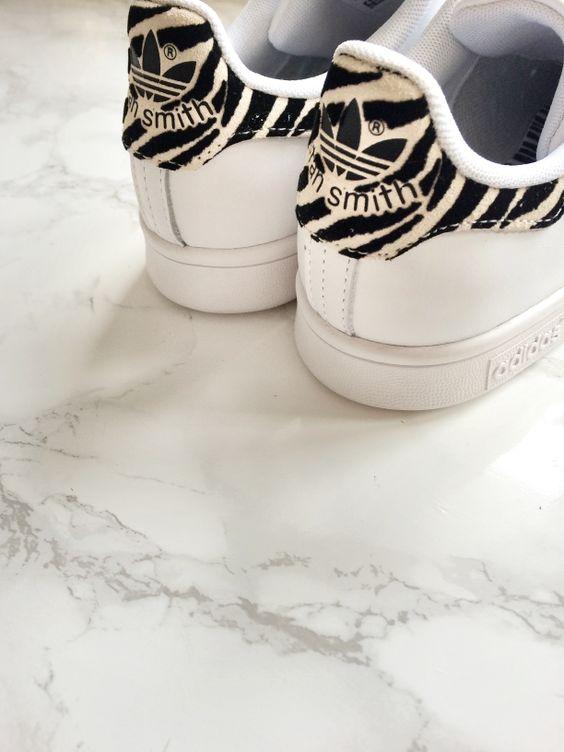 adidas femme stan smith zebre