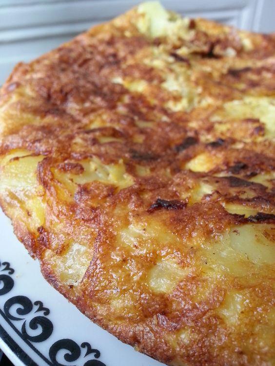Tortilla espagnole (omelette aux pommes de terre)