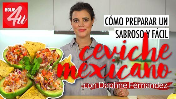 Cómo preparar un sabroso y fácil ceviche mexicano | Fiesta mexicana con ...