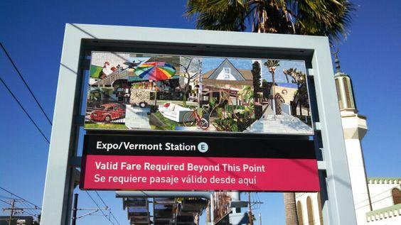 Expo / Vermont Metro Station, Los Angeles