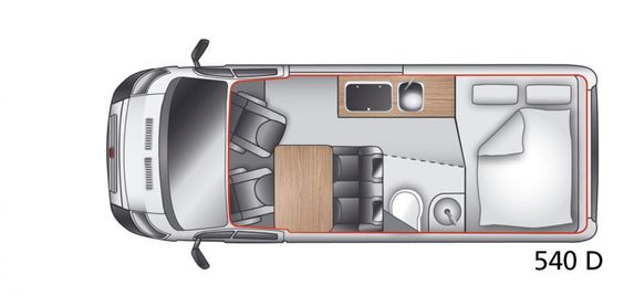 fiat ducato 540 layout