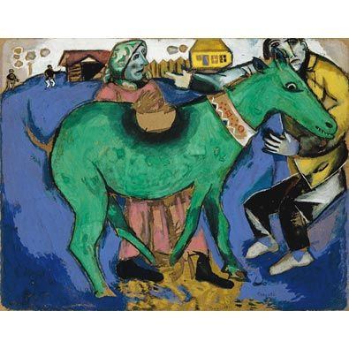Chagall: The Green Donkey (custom print)