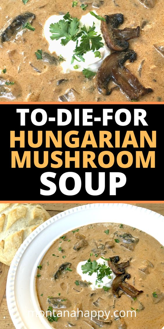 To-Die-For Hungarian Mushroom Soup Recipe