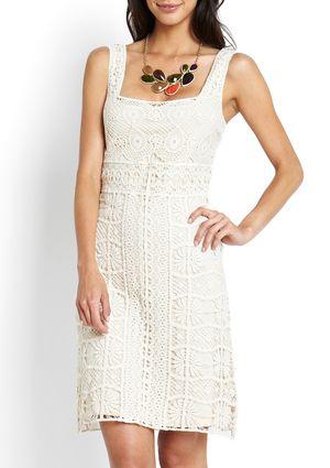 HAZEL Crochet Dress
