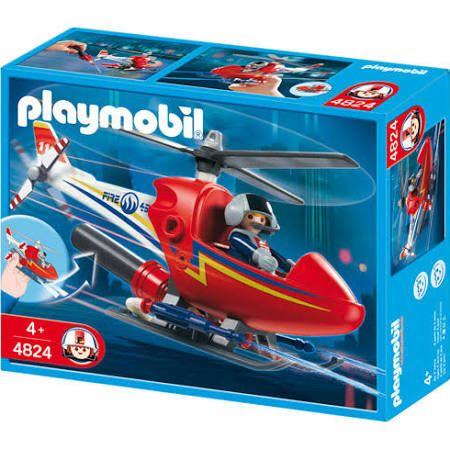 Playmobil 4824 - Hélicoptère de pompier