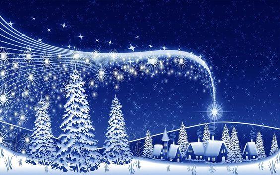 blauwe-kerst-wallpaper-met-kerstbomen-en-een-dorp.jpg (1600×1000)