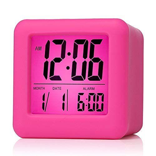 Pin By Cassie Appleyard On Calinas Room Travel Alarm Clock Alarm Clock Clock