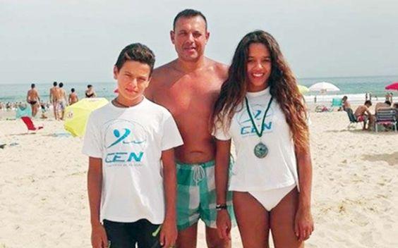Natação: Atletas do CEN estrearam-se em provas de mar   Elvasnews