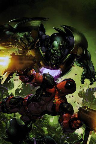 deadpool battle android wallpaper hd comics pinterest