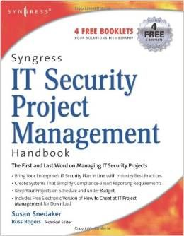 Book Review IT Security Project Management
