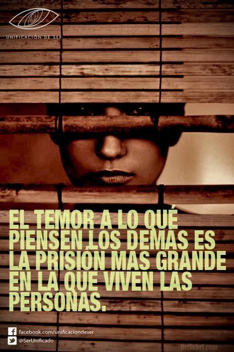 #temor #pensamientos #prisión #personas #frases #citas #pinterest: