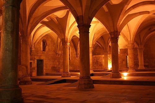 Mosteiro de Alcobaça. Portugal.