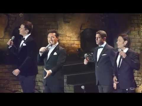 IL Divo 'Somewhere Over The Rainbow' live Nottingham 24.10.14 HD - YouTube