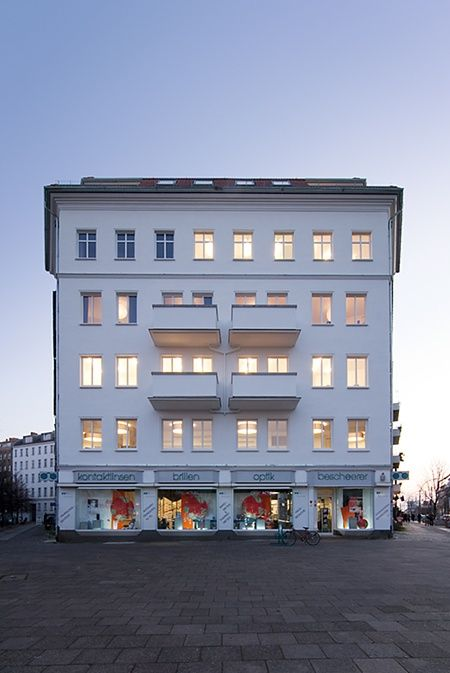 berlin 2008 - ronald s. lauder foundation - jewish - fassade - street view - fassade