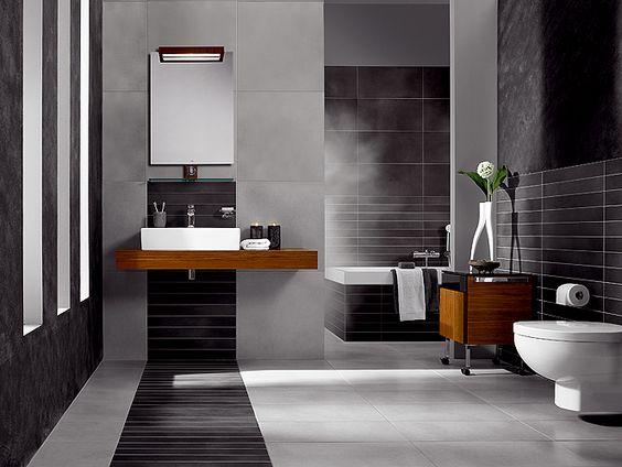 Salle de bain moderne   Salle d\'eau   Pinterest   Salles de bain ...
