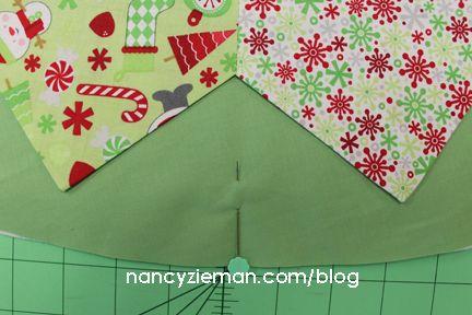 How to Sew a Christmas Tree Skirt with Nancy Zieman | Nancy Zieman Blog