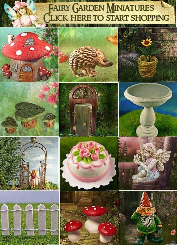 Enchanted Mini Fairy Garden
