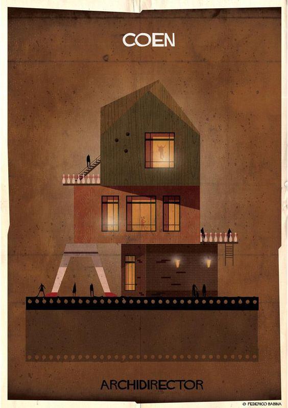 Yönetmenler Mimar olsaydı yaptıkları evler nasıl olurdu? Ethan Coen ve Joel Coen