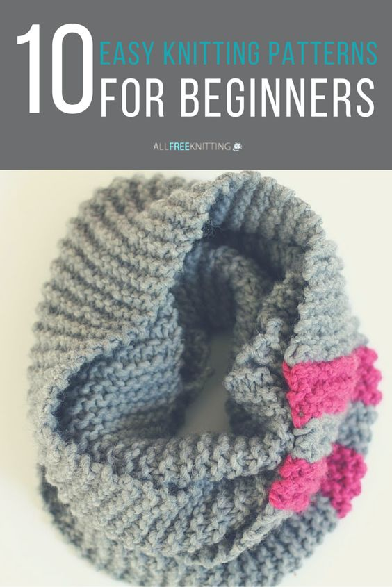 Easy Knitting Crafts For Beginners : Easy knitting patterns for beginners patrones autumn