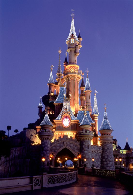 Disneyland Paris, France. Holiday with parents and brother 2003. This was incredible. I'm Disney crazy do this was like being in heaven. A few days to look around Paris itself too. Lovely. Would go back in a second. Look how pretty!!!!