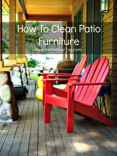 Patio Furniture and Cleanses on Pinterest