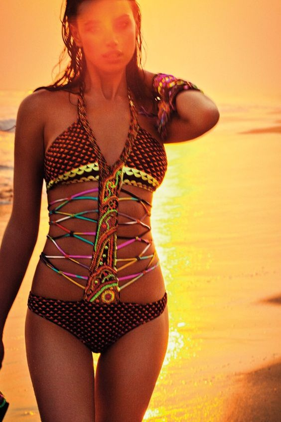 agua bendita swimsuit.