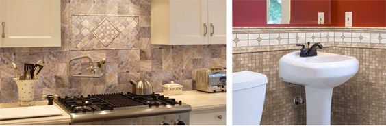 stone skin ultra thin mosaic tile sheets for backsplash