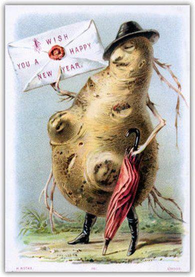 Mr potato veggie people Christmas:
