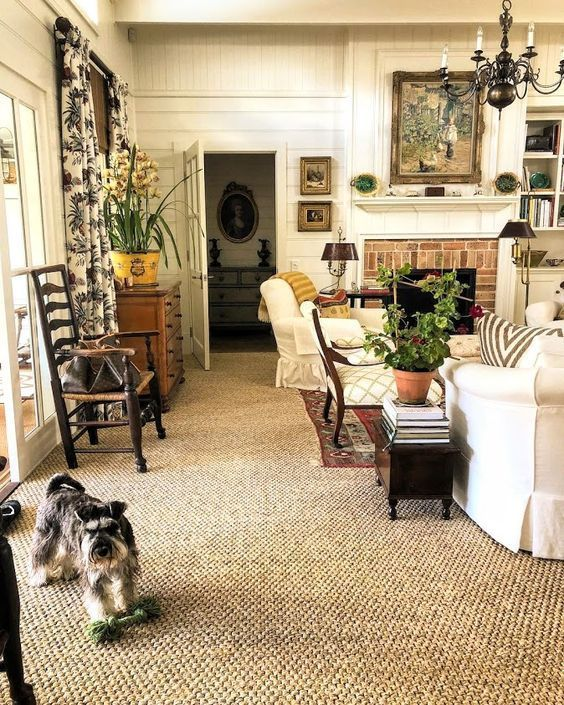 An Australian Home and Garden Full of Country Cottage Charm – Blue and White Home