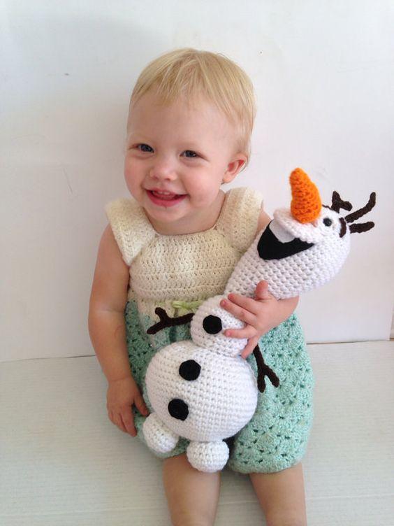 Amigurumi Olaf Tutorial : Amigurumi crochet snowman toy Toys, Olaf and Amigurumi