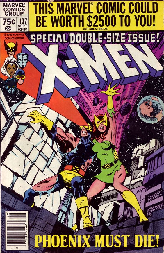 "X-Men #137.  The death of Jean Grey at the conclusion of ""The Dark Phoenix"" storyline."