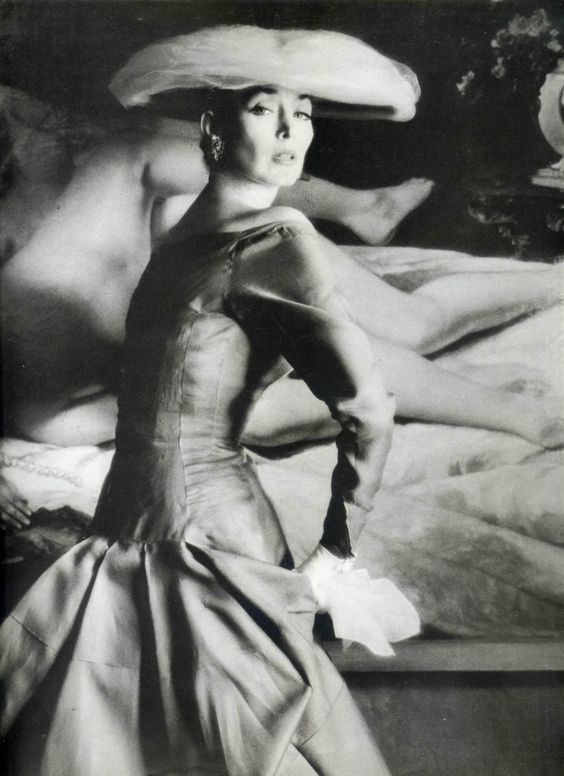 Dorian Leigh for Jacques Heim, 1950's