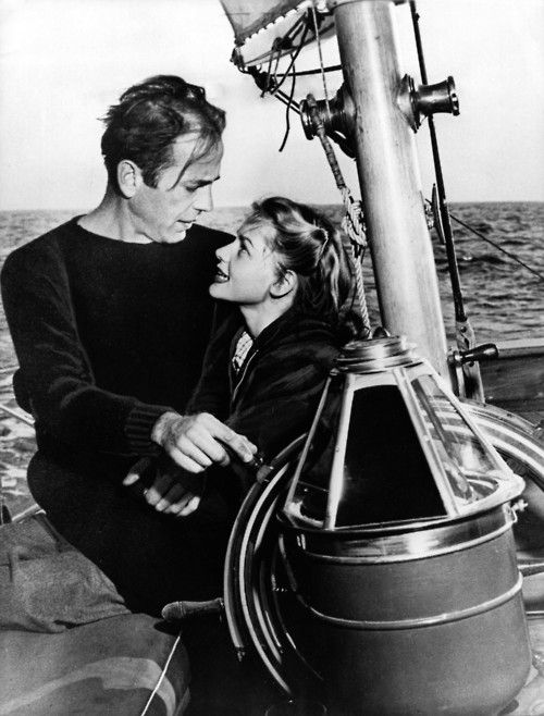 Humphrey Bogart and Lauren Bacall were Newport Beach sailors. He raced alot too. In fact, the race from Newport to Catalina Island he used to participate in and win is still going on. It's now named The Bogart Series in his honor.
